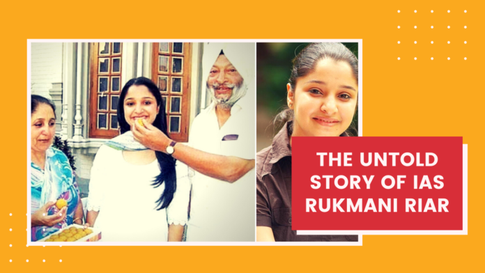 The untold STory of IAS Rukmai riar