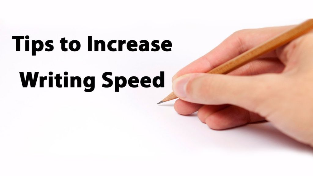 tips to increase writing speed for upsc exam