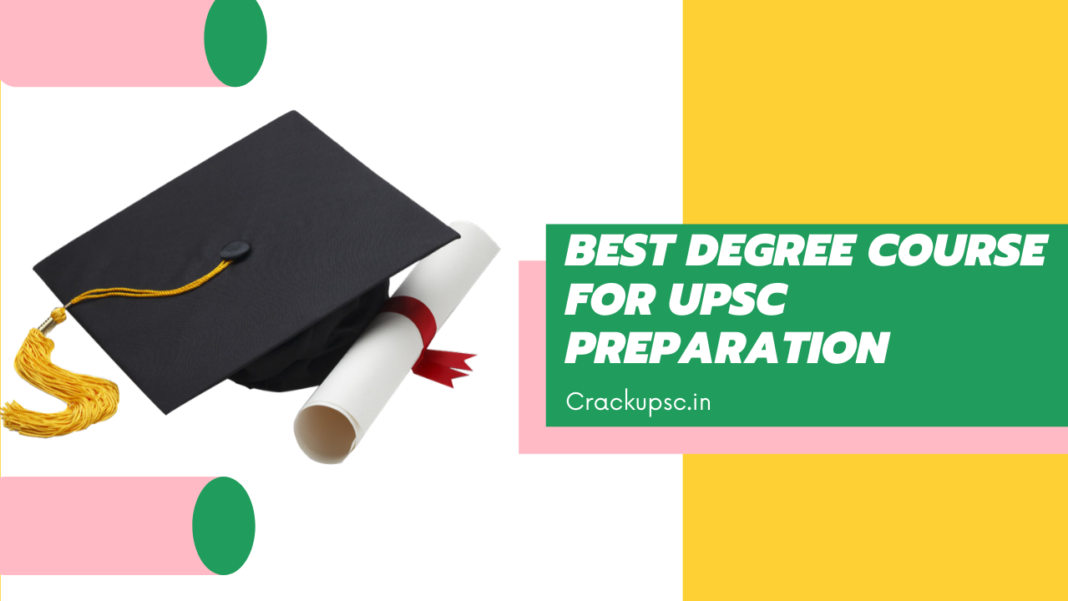 Best Degree For UPSC preparation